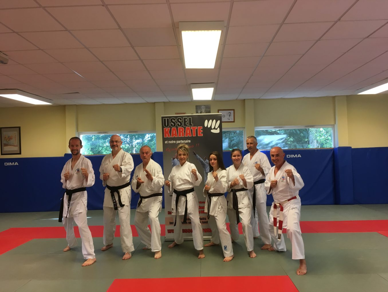 USSEL KARATE : un club, une passion